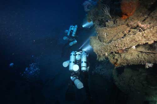 Training Dive Sites